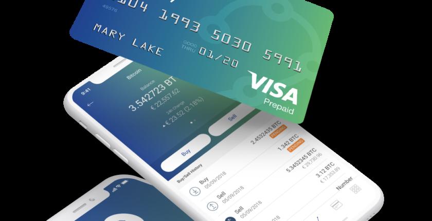 VISAのプリペイドデビットで仮想通貨が使える。ユーロ圏19カ国で導入