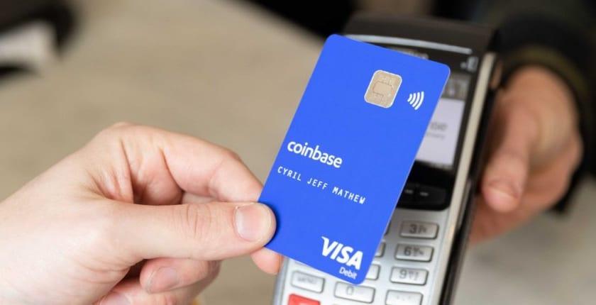 コインベース、仮想通貨VISAデビットカード開始。英、EU在住者向け