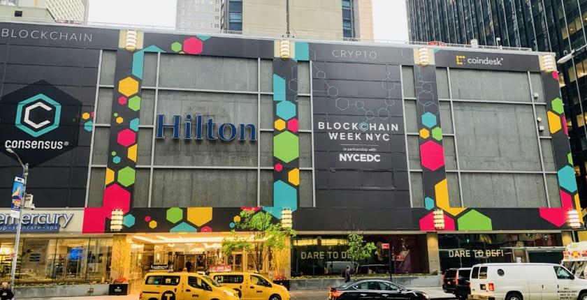 Consensus2019がNYCで開幕。分散型金融、マネロン対策、MakerDAOが初日の目玉か