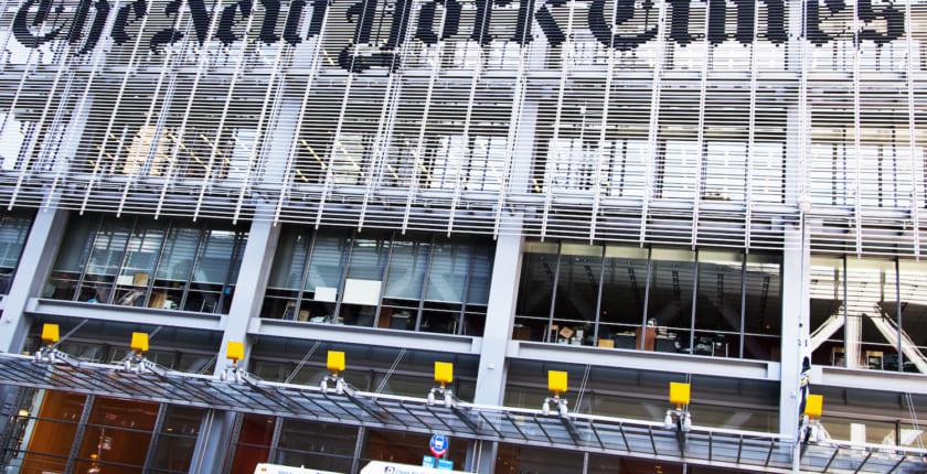 ニューヨーク・タイムズ、フェイクニュース対策でブロックチェーン利用を認める