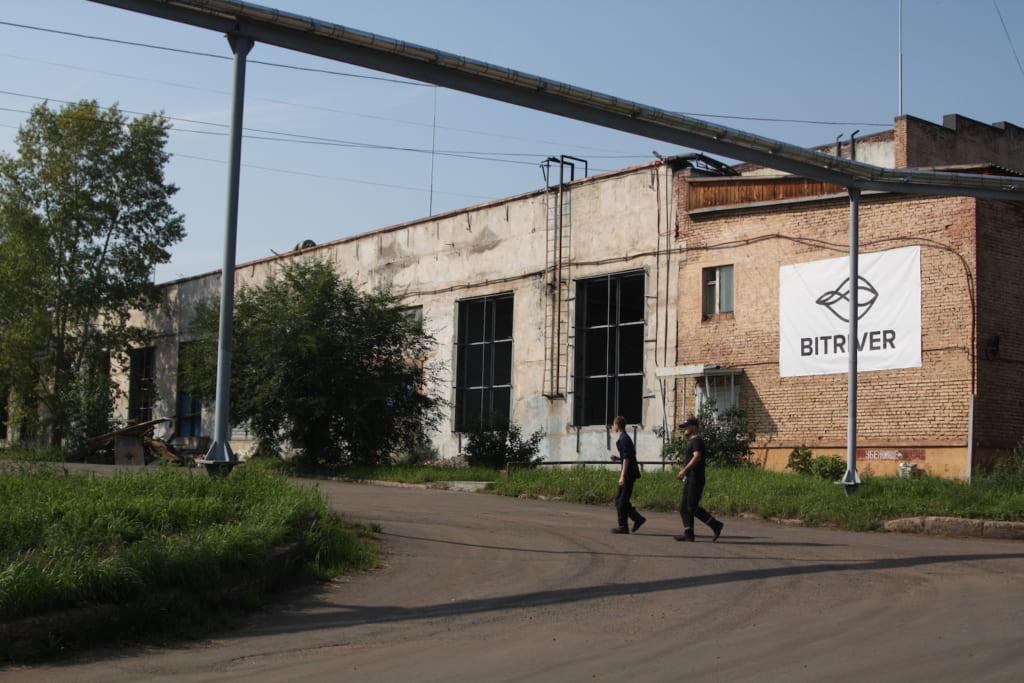 ビットリバーのマイニング施設