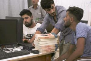 北シリアのスクールは、ブロックチェーン社会への小さな第一歩