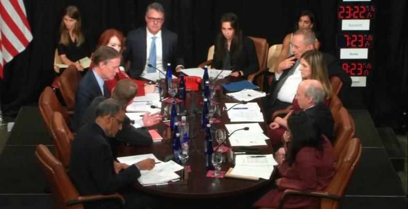 元米政府高官がホワイトハウスに集結──デジタル人民元の影響をシミュレーション