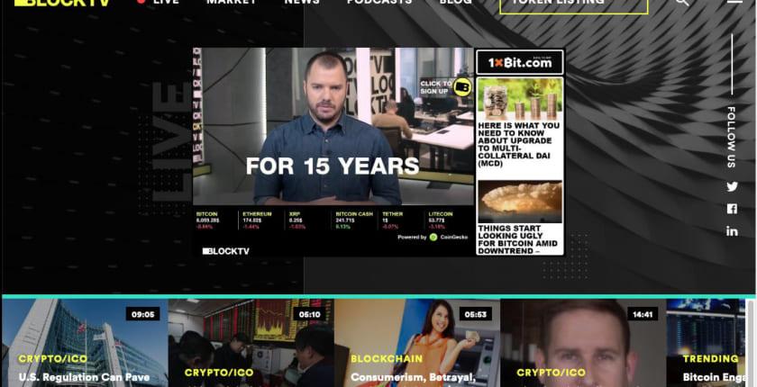 ニュース提供元にトークンで報酬──Bittrexに上場、イスラエル放送局BLOCKTV
