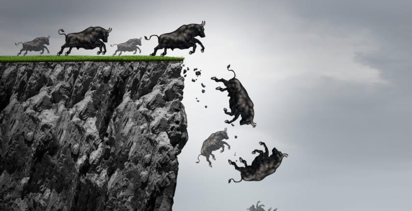 ビットコイン価格、ここ2カ月で最大の下落──中国発の熱狂が弱まる中