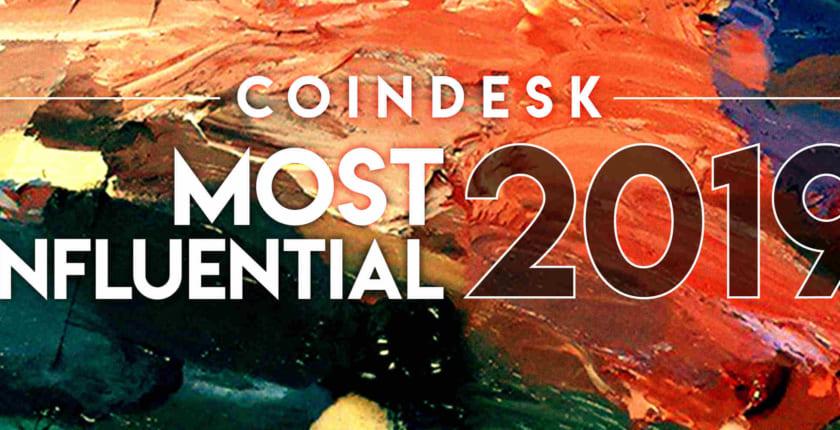 CoinDeskが選ぶ、ブロックチェーン/仮想通貨で最も影響力のある人物:2019年版