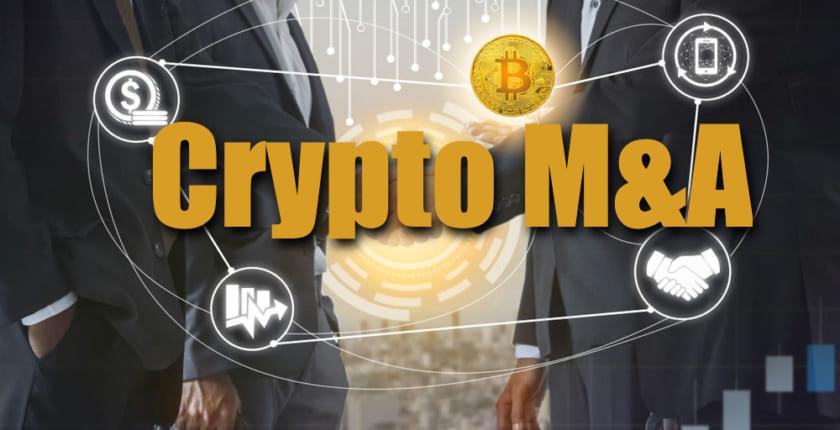 【M&A】ブロックチェーン・暗号資産分野は4割減、今後は「分散型M&A」に注目