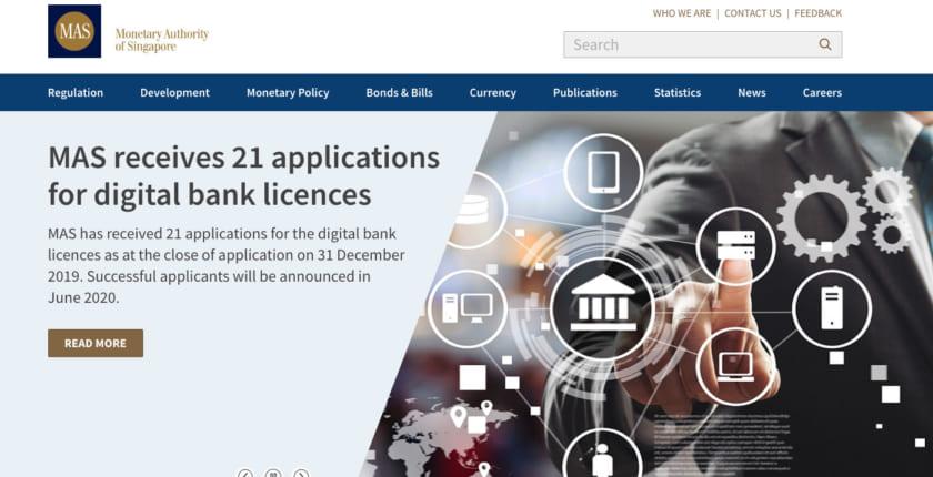 「デジタルバンク」申請は21件、三井住友海上参画のコンソーシアムも──シンガポール