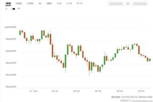 ビットコイン100万円割れ、新型コロナ感染拡大で広がる先行き不透明感──他の仮想通貨も下落