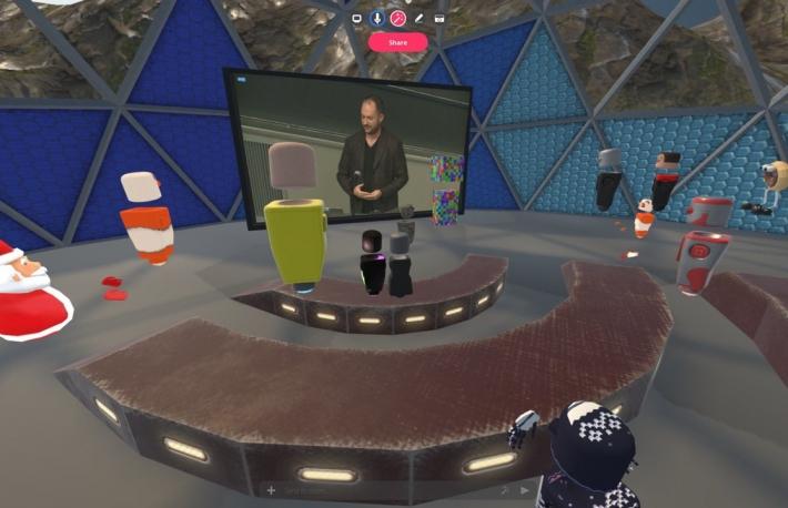 VRでビットコインイベントに参加、それでも体調を崩した
