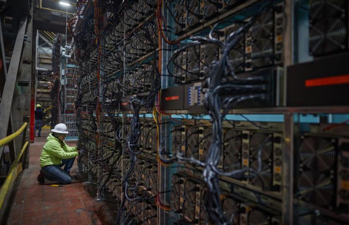 ニューヨークの発電所、ビットコインのマイニング能力を機関投資家に販売