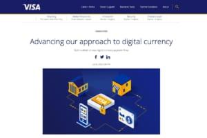VISAが「デジタル通貨」の可能性と取り組みを紹介──中銀にCBDCの政策提言も行う同社のデジタル通貨戦略