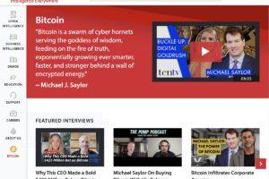ビットコインはゴールドより「100万倍優れている」と語る米上場企業CEO:マイクロストラテジー