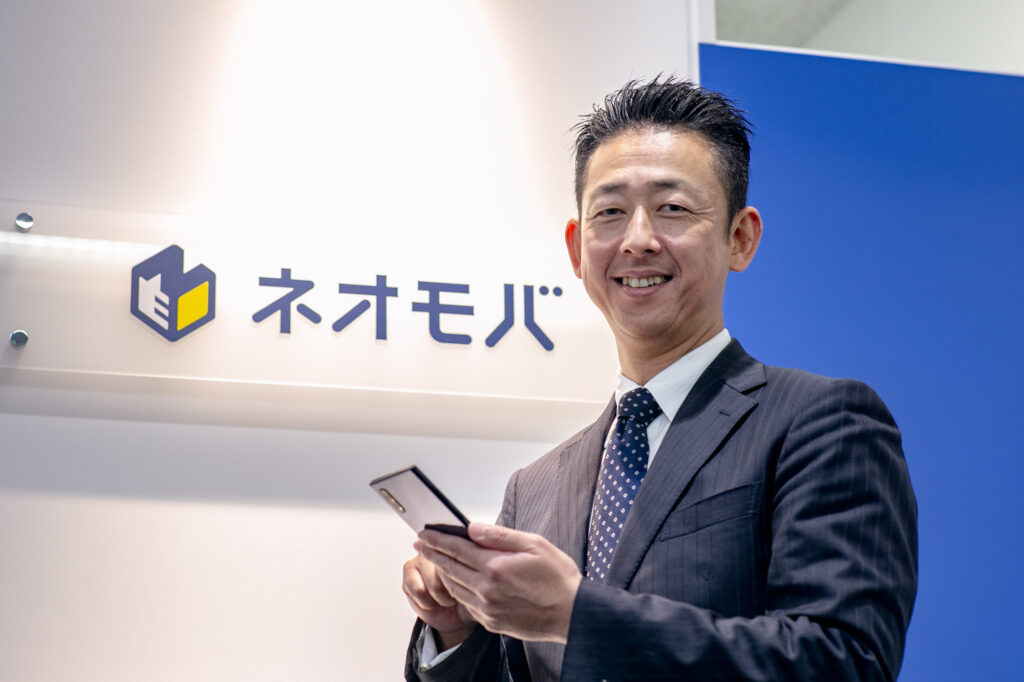 SBIネオモバイル証券・小川社長(写真:森口新太郎)