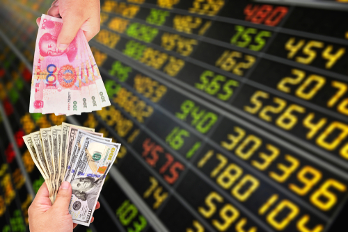 FX(外国為替)の米ドルと人民元