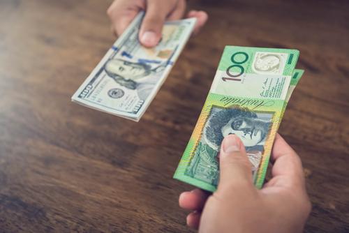 米ドルと豪ドルの両替