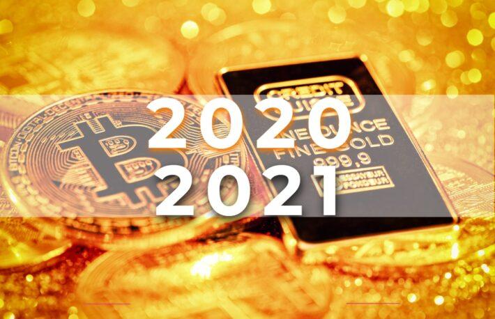 【検証と展望】「2020年、ビットコインはゴールドを超えた」のか?2021年はどうなる?