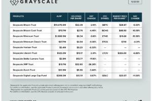 ビットコインファンド、1兆4600億円に規模拡大:資産運用の米グレイスケール