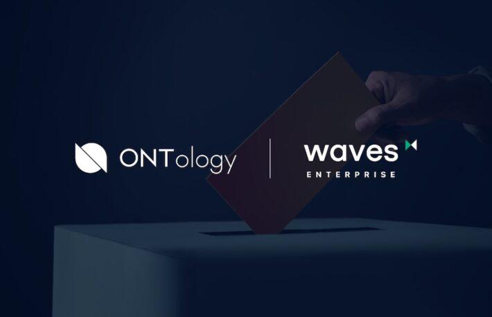 電子投票サービスに分散型IDを統合──オントロジー、Waves Enterpriseと提携