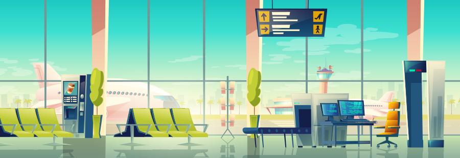 「特典」──空港ラウンジ