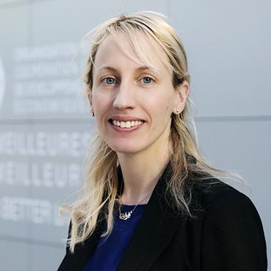 キャロライン・マルコム氏(OECD ブロックチェーン政策センター 所長)