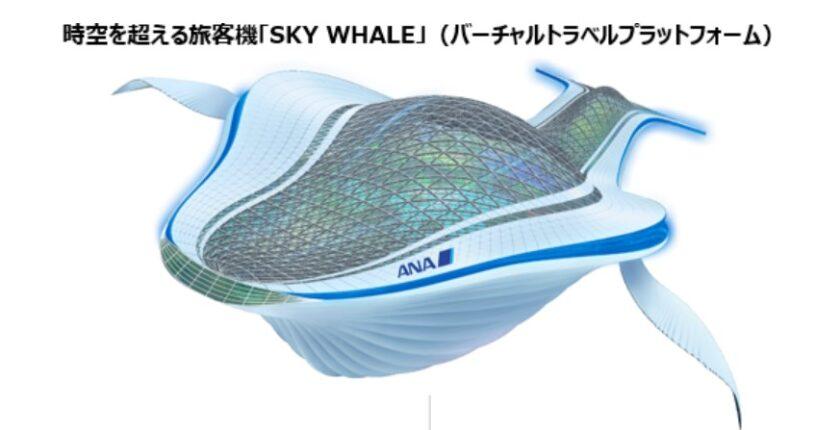 ANAが開発するバーチャルトラベル「SKY WHALE」にNFTが登場へ