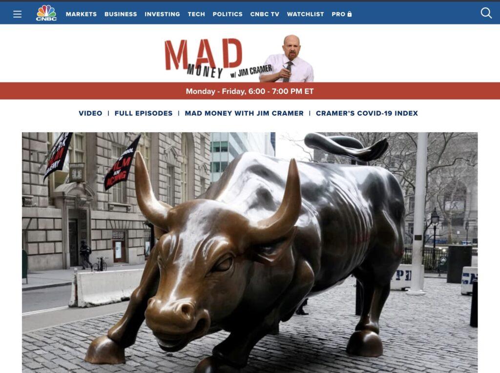 米TV番組「Mad Money」司会者、保有するビットコインを売却と語る