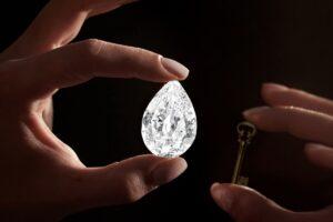 100カラットのダイヤモンド、サザビーズがBTCとETH決済をOK──落札価格は16億円超か