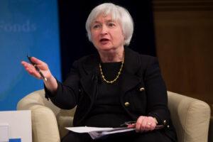 ビットコイン、上値の重い展開──イエレン財務長官が金利上昇を「プラス」と発言