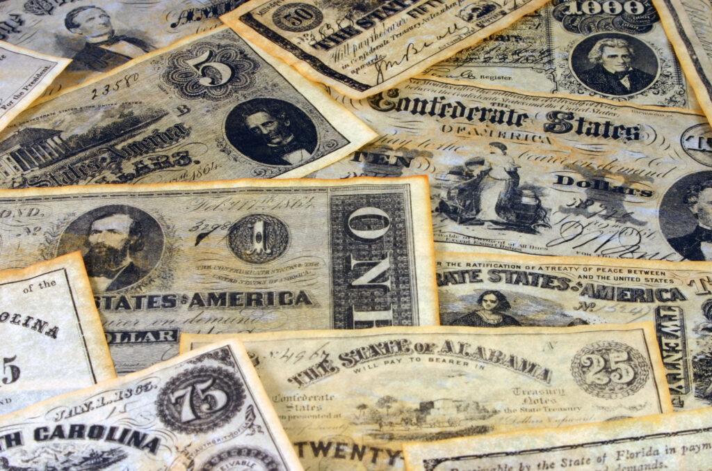 ステーブルコインに影響を与える南北戦争の遺産