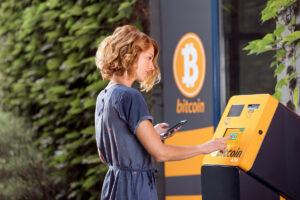 暗号資産ATM、70%以上増加