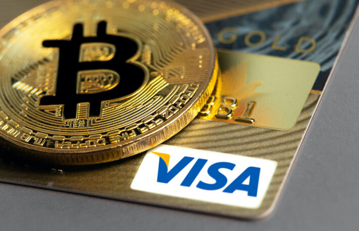 VISAの暗号資産対応カード、上半期の決済額は10億ドル