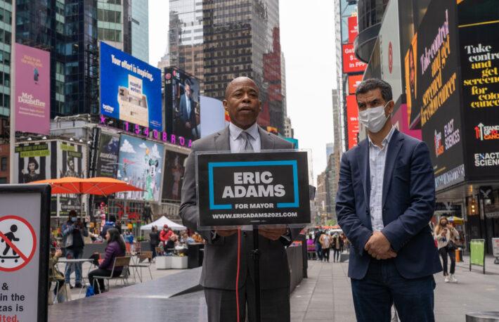 """次期ニューヨーク市長は""""ビットコイン市長""""か"""